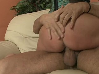 Sexy darksome haired dam I'd opposite number to fuck gets fucked hard then gets cum facial