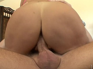 Nasty Rhyse Takes Large Wood Inside Her Immodest Wet Holes!