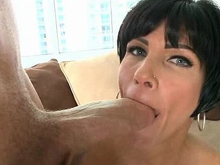 Beauty loves to get her loving holes stuffed by large penis